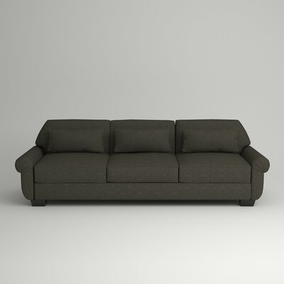 Kravitz Sofa Body Fabric: Zula Charcoal