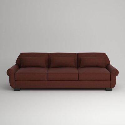 Kravitz Sofa Upholstery: Empire Cinnabar