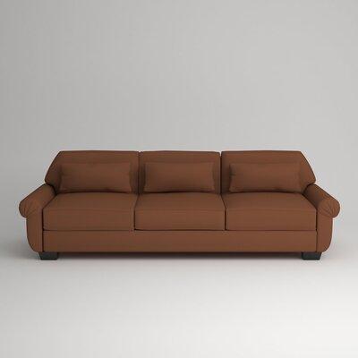 Kravitz Sofa Upholstery: Nobletex Russet