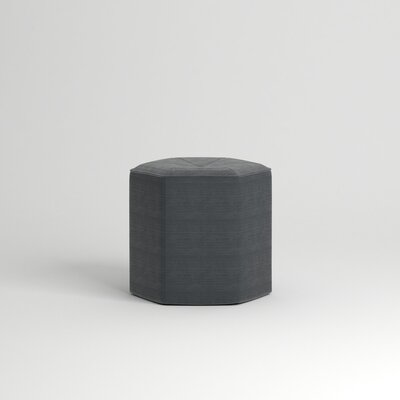Pillar Ottoman Body Fabric: Empire Shadow
