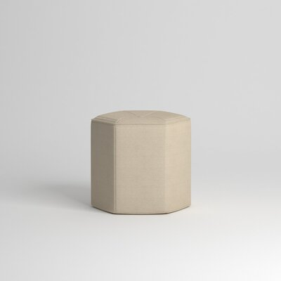 Pillar Ottoman Body Fabric: Devon Sand
