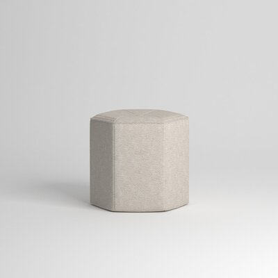 Pillar Ottoman Body Fabric: Nobletex Platinum