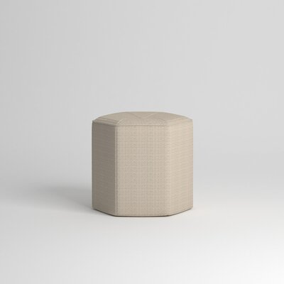 Pillar Ottoman Body Fabric: Equinox Beige