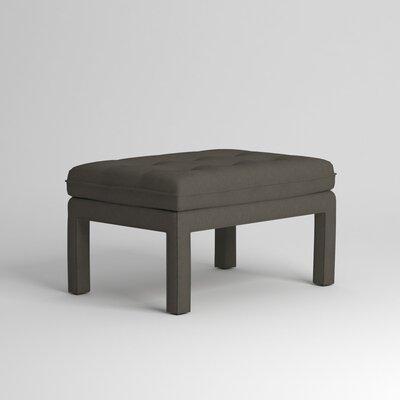 Warren Ottoman Upholstery: Devon Pewter