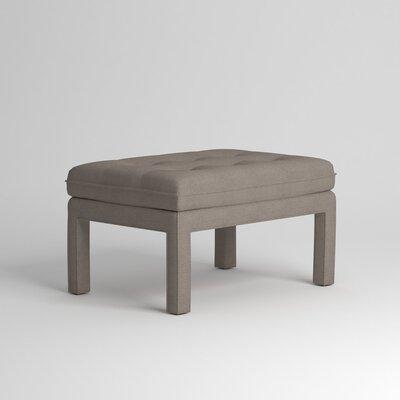 Warren Ottoman Upholstery: Devon Heather