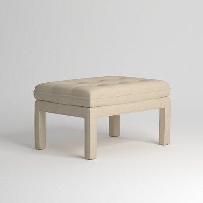 Warren Ottoman Upholstery: Devon Sand