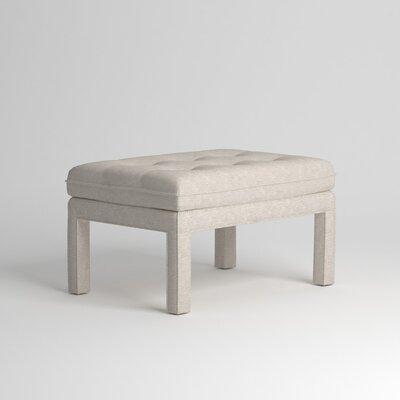 Warren Ottoman Upholstery: Nobletex Platinum