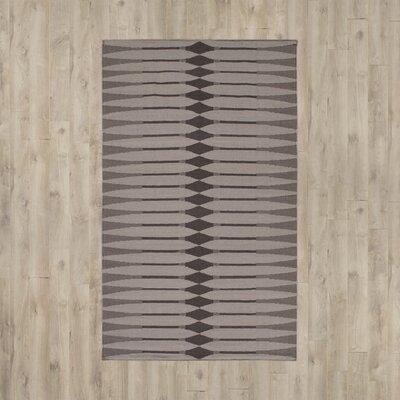 Anders Flatweave Smoke Area Rug Rug Size: 8 x 10