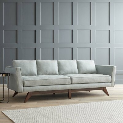 Fairfax Sofa Upholstery: Empire Steel