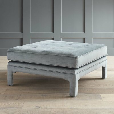 Malone Ottoman Body Fabric: Empire Steel