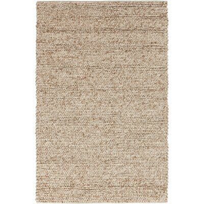 Hallein Rug in Dark Beige Rug Size: Rectangle 5 x 8