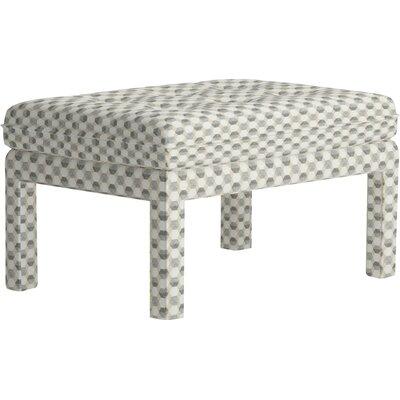 Warren Ottoman Upholstery: Iznik Tile Desert