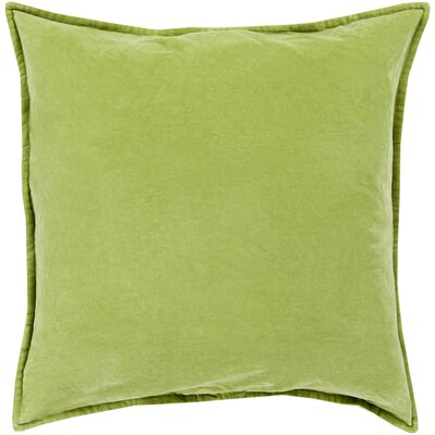 Vienna Cotton Pillow Cover Size: 22 H x 22 W x 1 D, Color: Fern