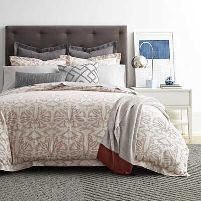 Fontaine Currant Duvet Cover Size: King