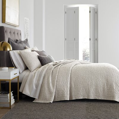 Thayer Pumice Coverlet Size: King