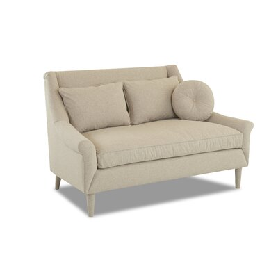 STERLING LOVESEAT Upholstery: Empire Shadow