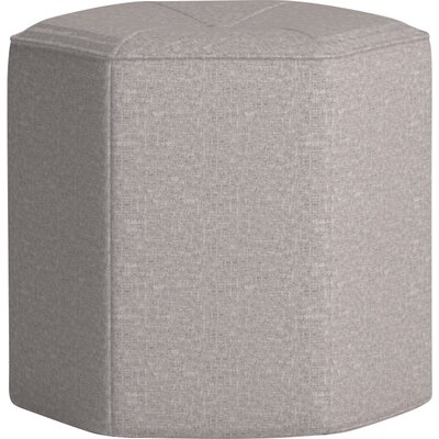 Pillar Ottoman Body Fabric: Zula Pumice