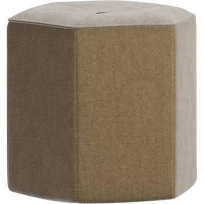 Pillar Ottoman Upholstery: Lombardy Off White
