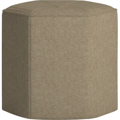 Pillar Ottoman Body Fabric: Zula Linen
