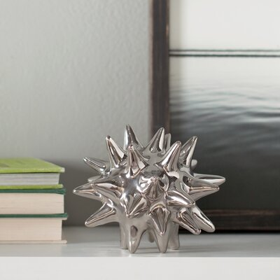 DwellStudio Urchin Shiny Silver Object