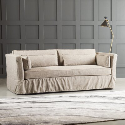 Bleeker Sofa Body Fabric: Bull Natural
