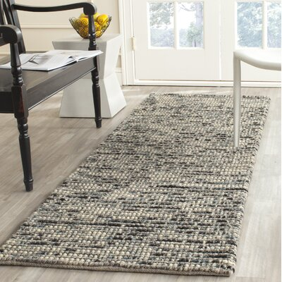Silvia Hand-Wovn Natural Area Rug Rug Size: Rectangle 4 x 6
