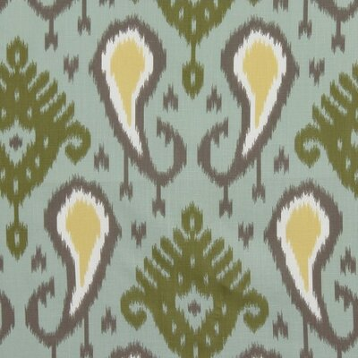 Batavia Ikat Fabric - Aquamarine