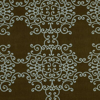 Soft Scrolls Fabric - Espresso