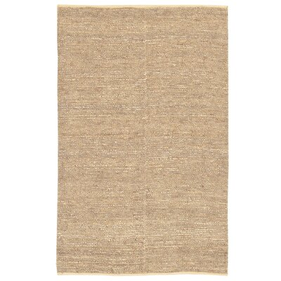 Hune Hand-Woven Antique White Area Rug Rug Size: 8 x 11