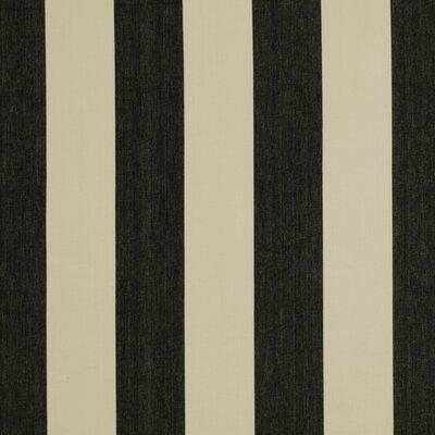 Oversize Stripe Fabric - Jet