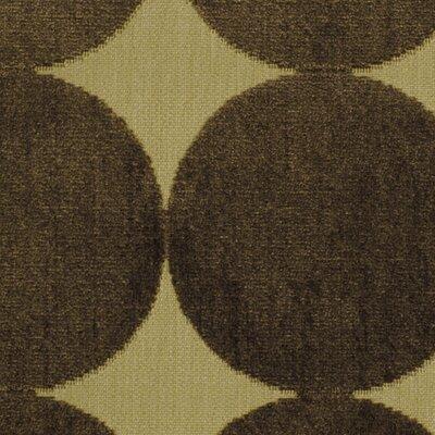 Plush Dotscape Fabric - Major Brown