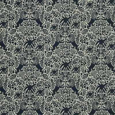 Kings Walk Fabric - Ultramarine