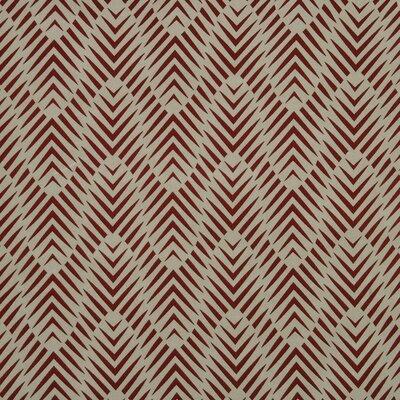 Zebra Geo Fabric - Currant