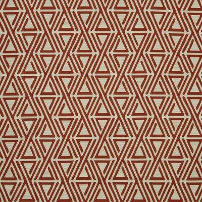 Triangle Maze Fabric - Currant