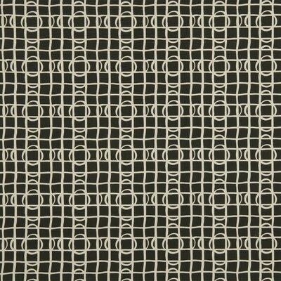Lattice Graph Fabric - Ink