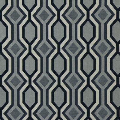 Diamond Vista Fabric - Navy