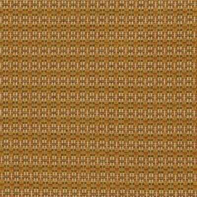 Locking Dots Fabric - Tangerine