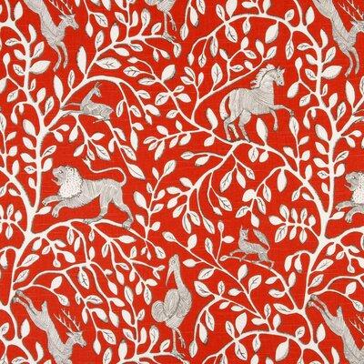Pantheon Fabric - Persimmon