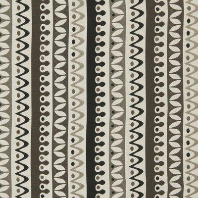 Nordic Stripe Fabric - Jet