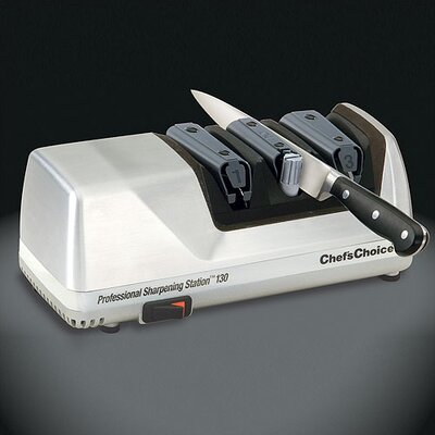 Chef's Choice Professional Sharpening Station Electric Knife Sharpener in Brushed Metal at Sears.com