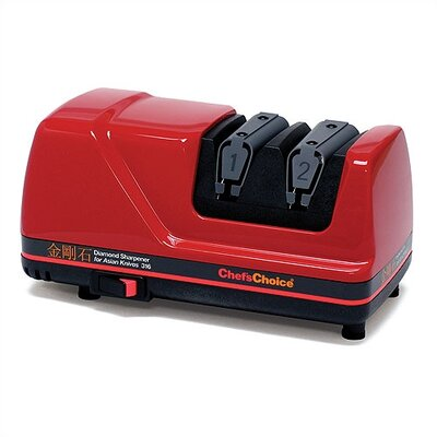 Chef's Choice Diamond Electric Knife Sharpener for Asian Knives in Red at Sears.com