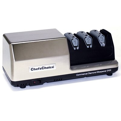 Commercial Diamond Hone 3 Stage Electric Knife Sharpener 0210008