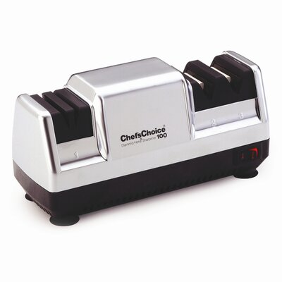 Chef's Choice Diamond Hone Deluxe M100 Knife Sharpener in Platinum at Sears.com