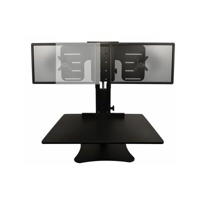 15.5 H x 28 W Standing Desk Conversion Unit