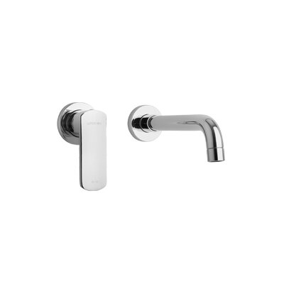 Novello Lavatory Faucet Single Handle Finish: Chrome