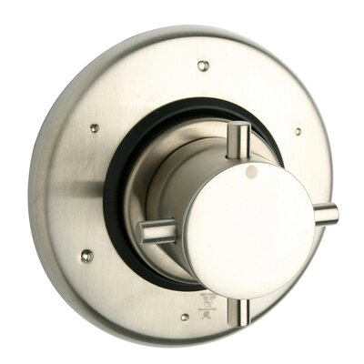 Water Harmonly Volume Thermostatic Valve Finish: Brushed Nickel