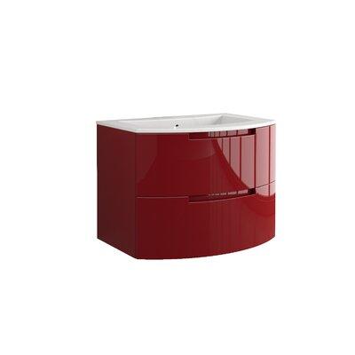 Oasi 29 Single Vanity Base Finish: Red