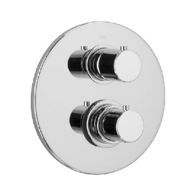 Elba Volume Thermostatic Valve Finish: Chrome