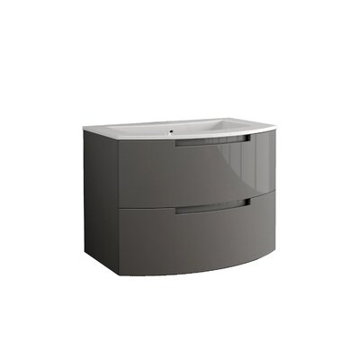 Oasi 29 Single Vanity Base Finish: Slate