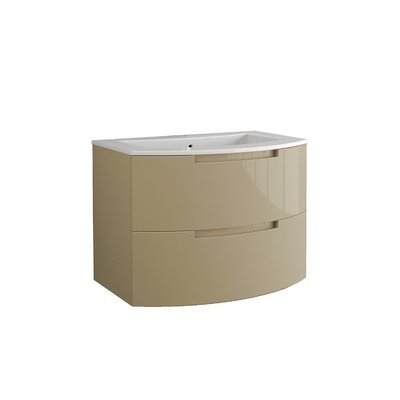 Oasi 39 Single Vanity Set Base Finish: Sand